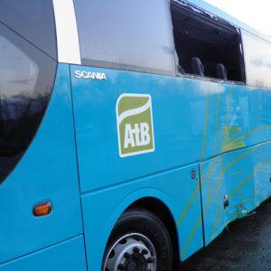 Buss skade