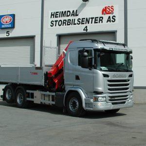 Kranbil Scania